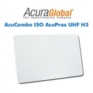 Cartões Inteligentes AcuCombo ISO AcuProx UHF H3