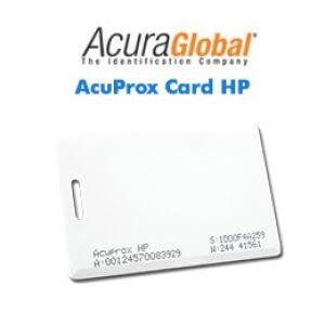 Cartões Inteligentes AcuProx Card HP