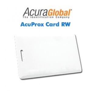 Cartões Inteligentes AcuProx Card RW