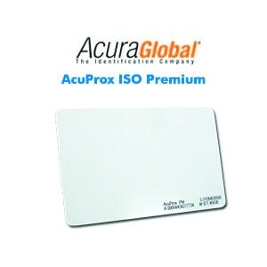 Cartões Inteligentes AcuProx ISO Premium