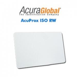 Cartões Inteligentes AcuProx ISO RW