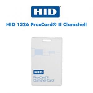 Cartões Inteligentes HID 1326 ProxCard® II Clamshell
