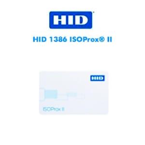 Cartões Inteligentes HID 1386 ISOProx® II