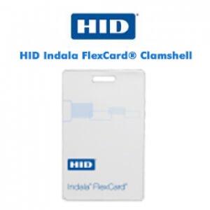 Cartões Inteligentes HID Indala FlexCard® Clamshell