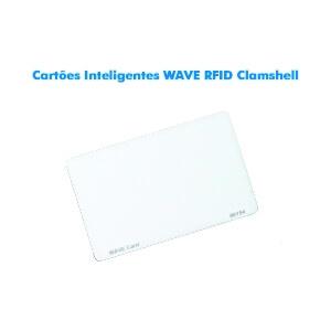 Cartões Inteligentes WAVE RFID Clamshell