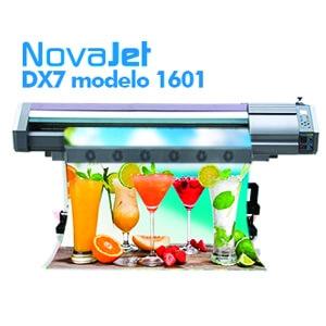 Impressora Eco-Solvente DX7 modelo 1601