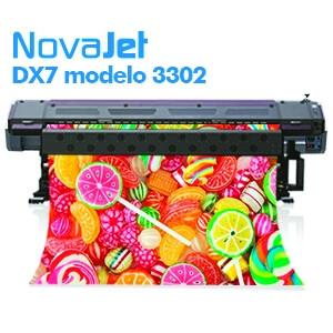Impressora Eco-Solvente DX7 modelo 3302