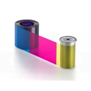 Entrust Sigma DS YMCKT Full Colour Ribbon, 500 impressões