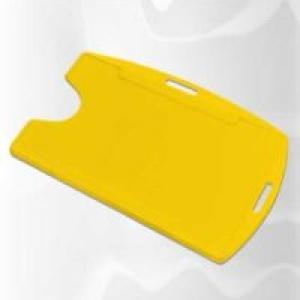 Protetor de crachá universal (M3) AMARELO C/100