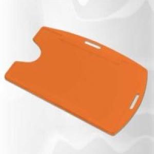 Protetor de crachá universal (M3) LARANJA  C/100