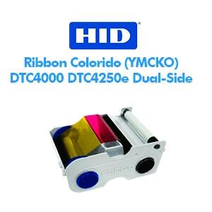 Ribbon Fargo Colorido Frente e Verso (YMCKOK) - DTC4000 DTC4250e Dual-Side