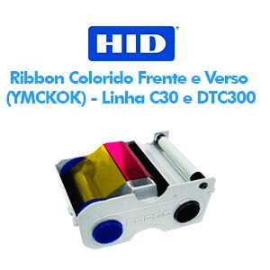 Ribbon Fargo Colorido Frente e Verso (YMCKOK) - Linha C30 e DTC300