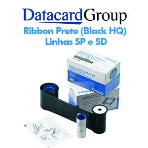 Ribbon Preto (Black HQ) 532000-053 para Datacard Series SP e SD