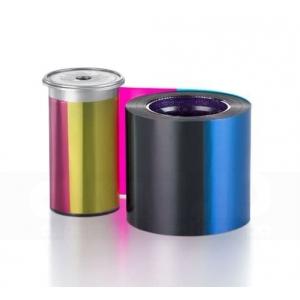 Entrust Sigma YMCKF-KT Full Color Fluorescente, 300 impressões